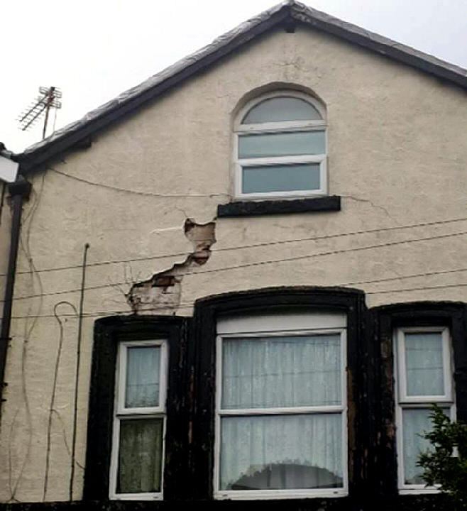 This property in Old Swan was auctioned off and the tenant re-housed due to its poor condition.