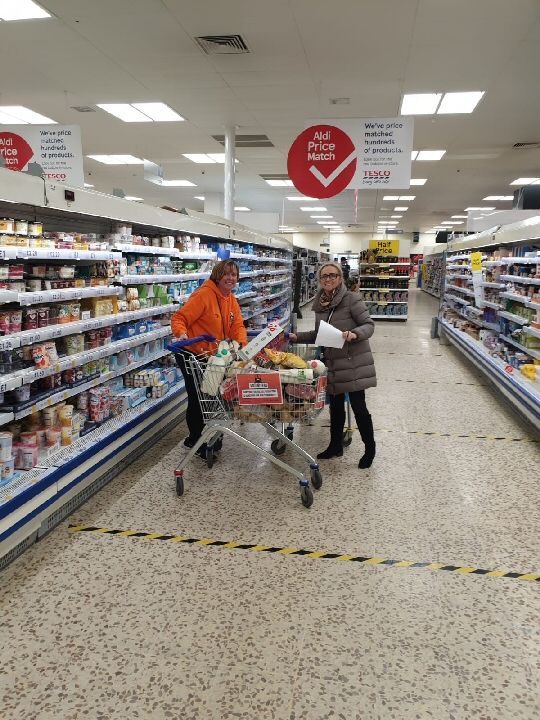 Formby Community Football Club players at the club�s launch; Two members of the �orange army� shopping for a person who was shielding...