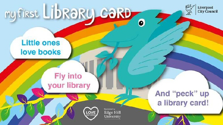 Winging it: A new library card has been launched for children up to age 10.