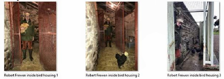 Bird keepers biosecurity measures...