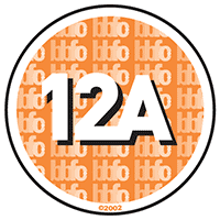 12A with Parental Guidance -  This rating is given by the British Board of Film Classification.  A 12A classification means the film is unsuitable for children under 12. However, they may still watch the film, as long as they are accompanied by someone over 18 at all times during the showing. Advice is given regarding the content of the film and the ADULT (18 or over) must decide if it is appropriate for the accompanying under 12. Please note that you can be asked for proof of age if you are the adult.