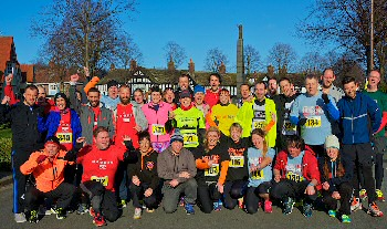 Port Sunlight 2015 Double race runners.