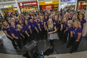 04: The PopVox choir pictured at Pyramids Shopping Centre