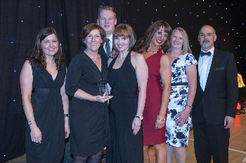 Cancer Services Team (one of the three team of the year winners)