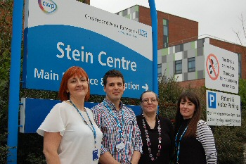 Photo 1 � staff from CWP�s research team