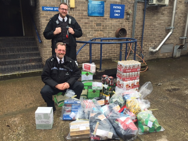 St Helens and Newton-le-Willows recovery of counterfeit alcohol, cigarettes.