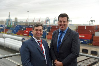 Mark Whitworth and Andrew Percy MP