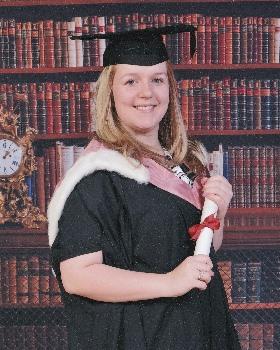 Lauren graduates from The University of Liverpool.
