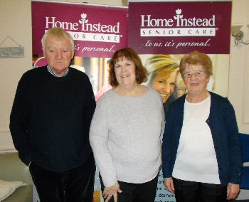 Peter Dooley, Debbie Darby, Community Engagement Co-Ordinator, and Joyce Kelly