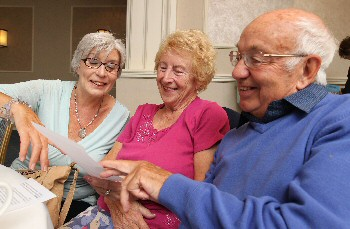Friendship group offers new 'recipe' for a happy life