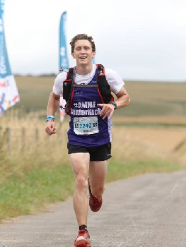 Latest race sees running man notch up almost 300 km to date!