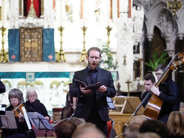 Liverpool Bach Collective at St Francis Xavier's Church, Liverpool (Soloist Stuart O'Hara)