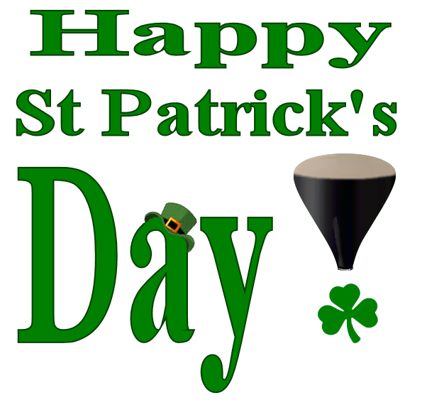 Happy St Patrick's Day to all our Readers!!!!