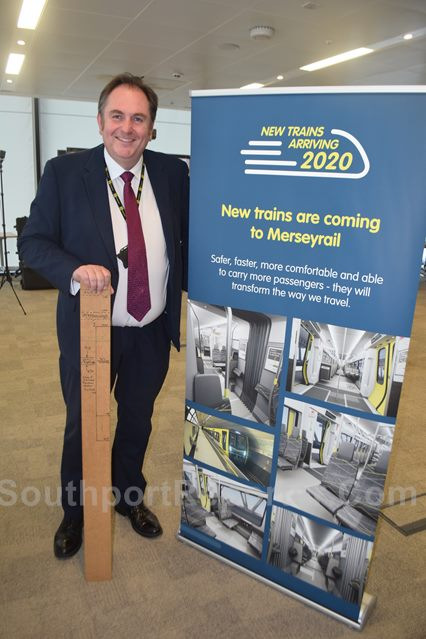 David Powell, Programme Director of Rolling Stock at Merseytravel.