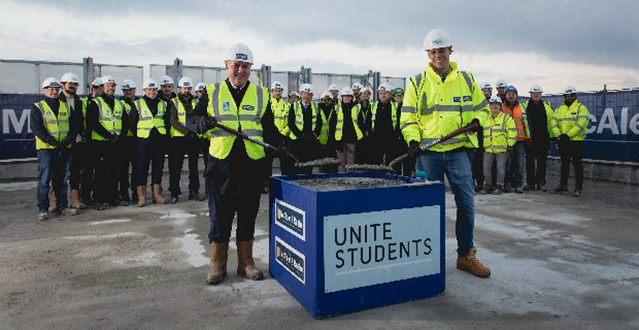 Dominic Trainor of McAleer & Rushe and Gary McIlwraith of Unite Students