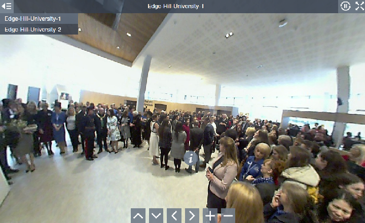 Click to access our 360' panoramic photographs taken just before the unveiling...