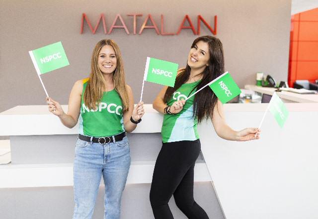 Kendal Keane (left) and Chloe Wade at Matalan head office.
