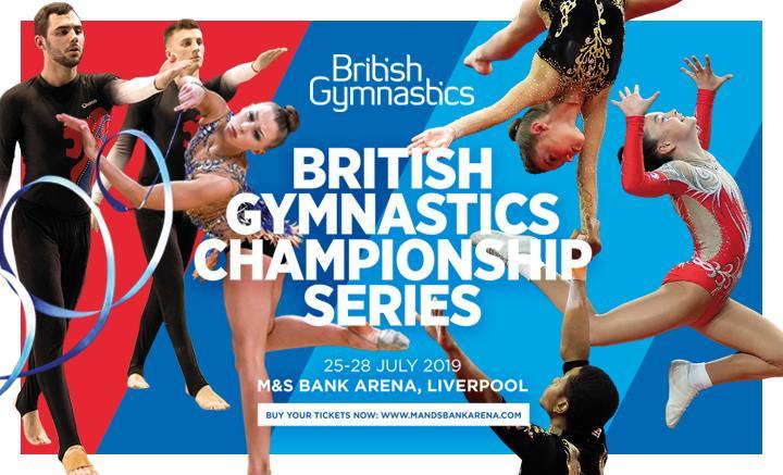 4 days, four championships, four amazing gymnastics disciplines!