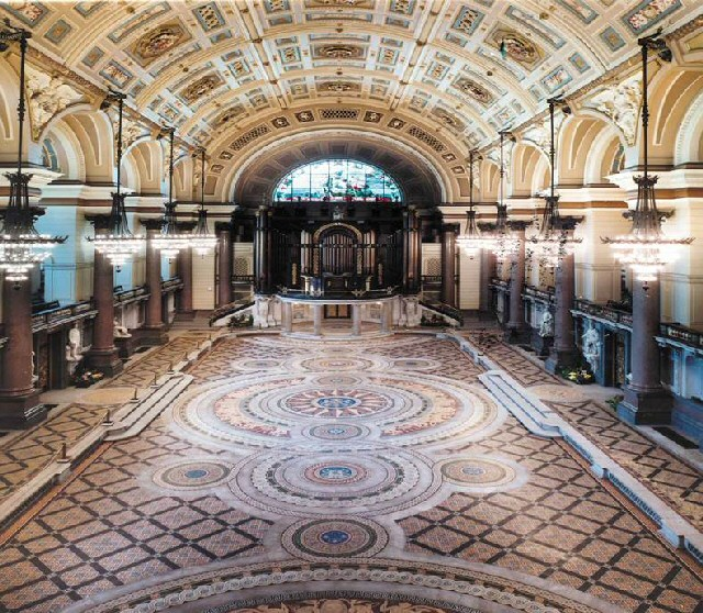 The Great Hall at St George's Hall, where the event will take place.
