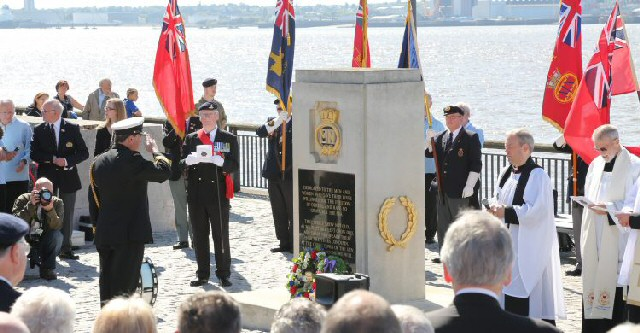 Liverpool marks Merchant Navy Day in 2017