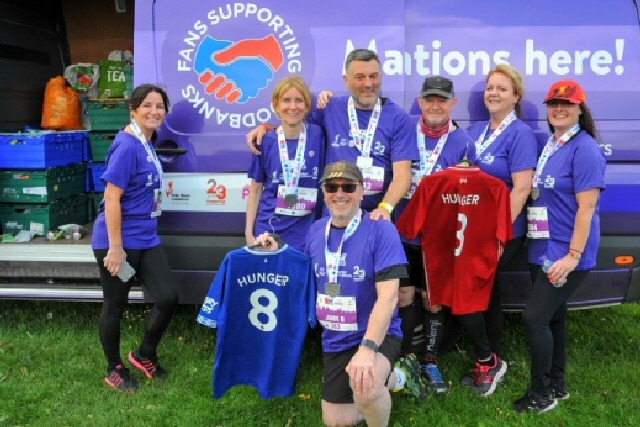 RFT96 2019 Fans Supporting Foodbanks