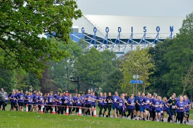RFT96 2019 runners pass Goodison