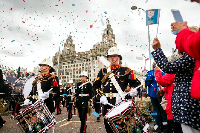 The band of Her Majesty's Royal Marines will return to the City on Armed Forces Day 2019