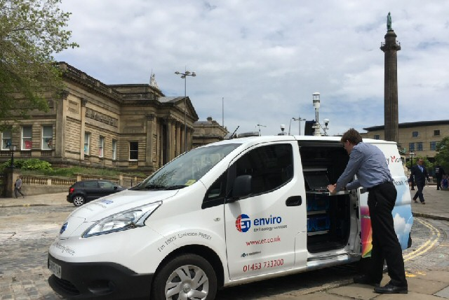 Invisible killer: Liverpool is capturing real time data on air pollution which leads to 230 deaths each year in the City.
