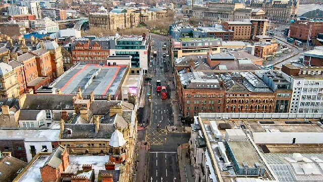 UPGRADE: Victoria Street in Liverpool City centre is undergoing improvements as part of a ₤45m highways scheme