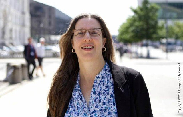 Climate change champion: Councillor Laura Robertson Collins is to take up a historic role for the City of Liverpool