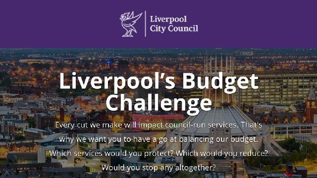 Calculator:- Residents can have their say on where spending priorities should lie.