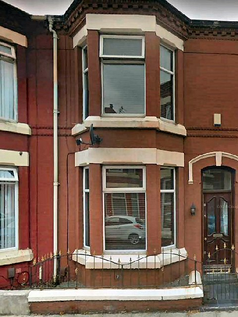 1 of the 9 properties that was unlicensed... This 1 is on Snaefell Avenue, in Tuebrook, Liverpool...