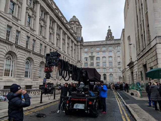 Action! Filming in Liverpool City Centre - Liverpool Film Office has broken all records for the 4th consecutive year as it celebrates its 30th Anniversary.