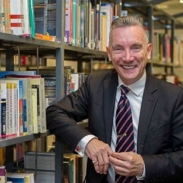 Business champion: Deputy Mayor Cllr Gary Millar, who is behind Liverpool's entrepreneur in residence scheme at Liverpool Central Library.