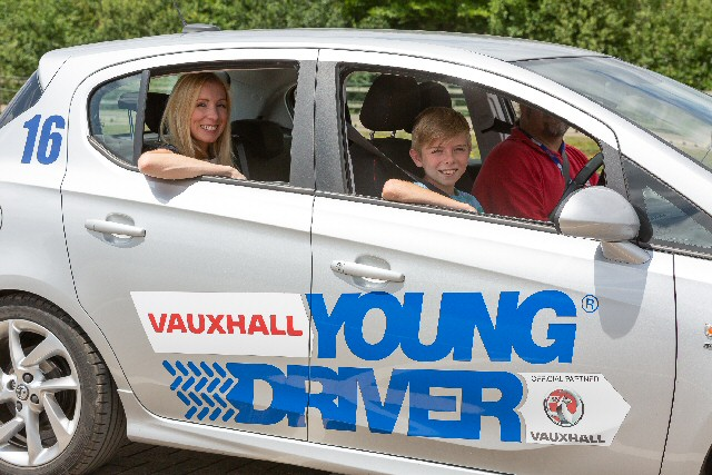 Driving lessons for 10 to 17's taking place at Haydock Park Racecourse on 19 February 2020