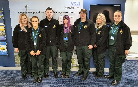 North West Ambulance Service's emergency medical dispatcher apprentices celebrate National Apprenticeship Week