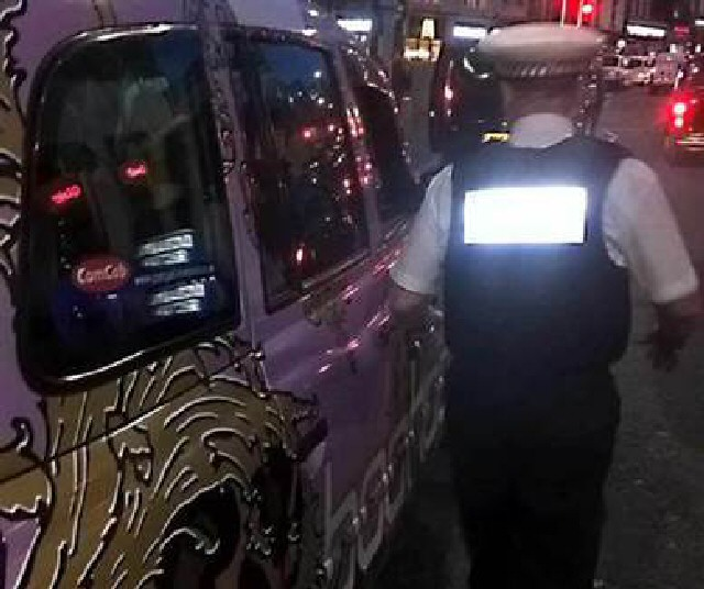 On Patrol: Licensing Enforcement officers at work in the City centre.