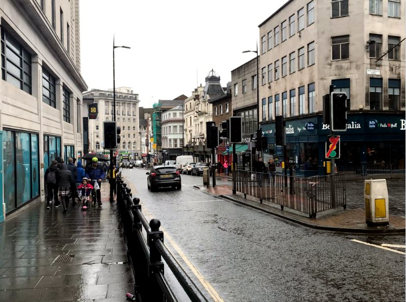Car ban - A Bus gate is to be installed changing Westbound traffic on Ranelagh Street heading towards Liverpool's waterfront